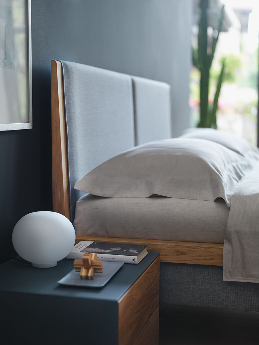 team 7 bett mylon in gie en wetzlar marburg dormivital. Black Bedroom Furniture Sets. Home Design Ideas