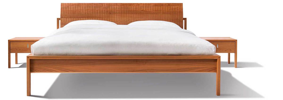 team 7 bett valore relief in gie en wetzlar marburg. Black Bedroom Furniture Sets. Home Design Ideas