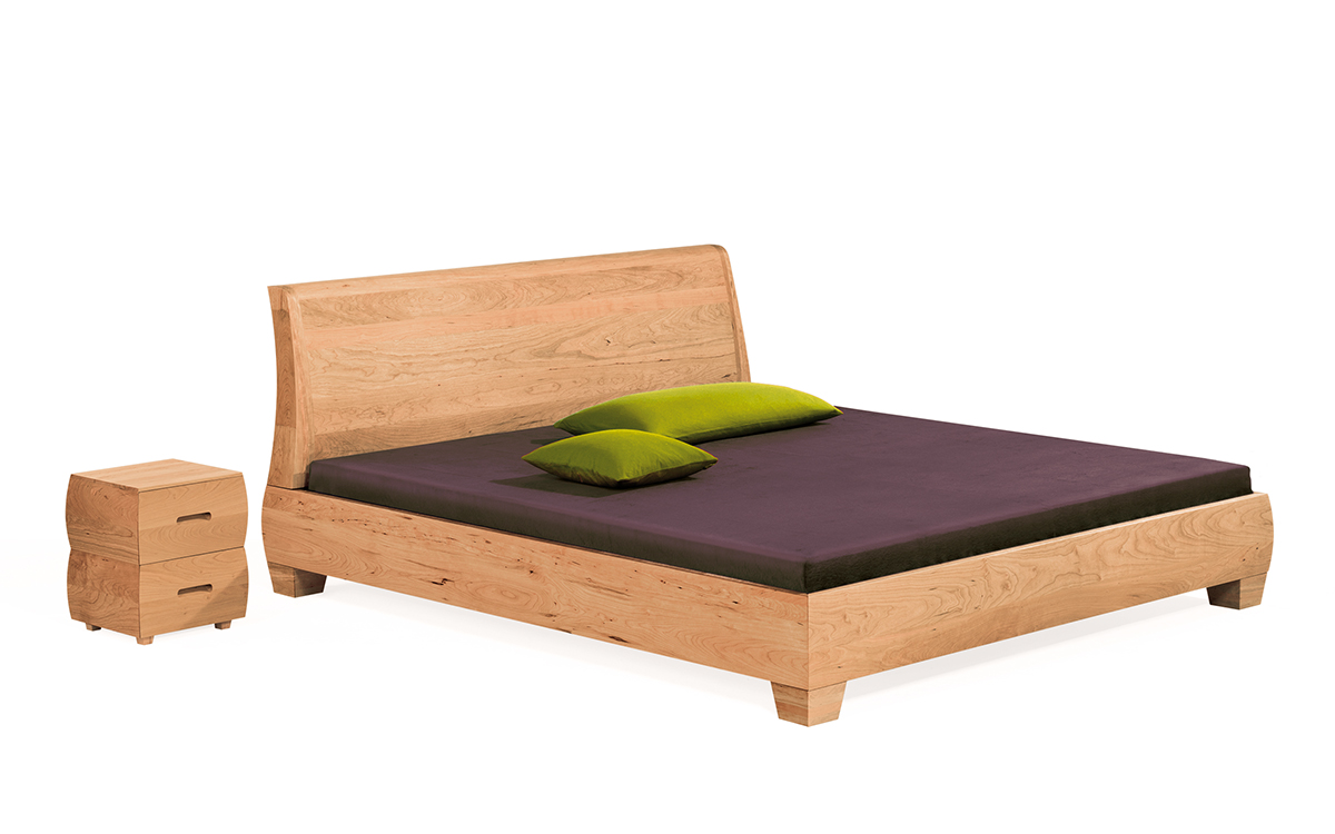 Bett aus Massivholz Morena in Gießen Marburg Wetzlar - Dormivital ...